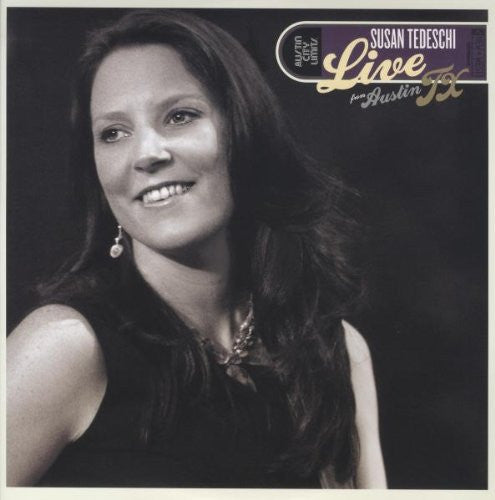 SUSAN TEDESCHI LIVE FROM AUSTIN TX LP VINYL 33RPM NEW