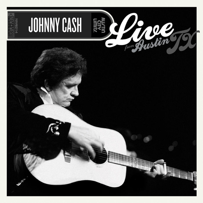 JOHNNY CASH LIVE FROM AUSTIN TX LP VINYL 33RPM NEW