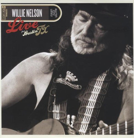 WILLIE NELSON LIVE FROM AUSTIN TEXAS LP VINYL NEW 33RPM