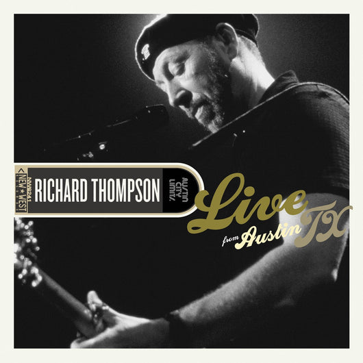 RICHARD THOMPSON LIVE FROM AUSTIN TX LP VINYL 33RPM NEW