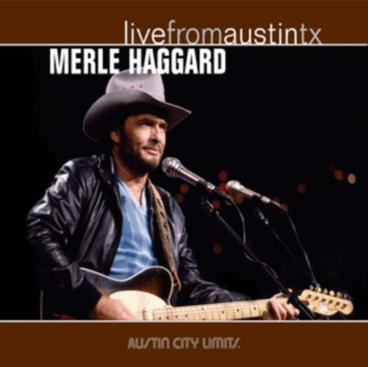 MERLE HAGGARD Live From Austin TX LP Vinyl Brand NEW 2017