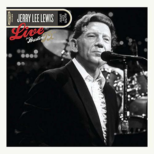 Jerry Lee Lewis Live From Austin, TX 2LP NEW 2017