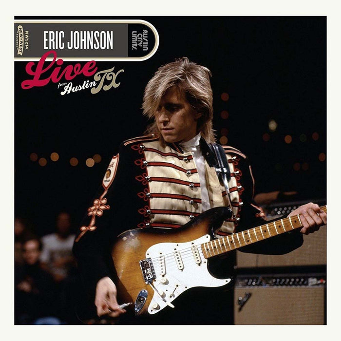 ERIC JOHNSON Live From Austin, TX 2LP Vinyl NEW 2017