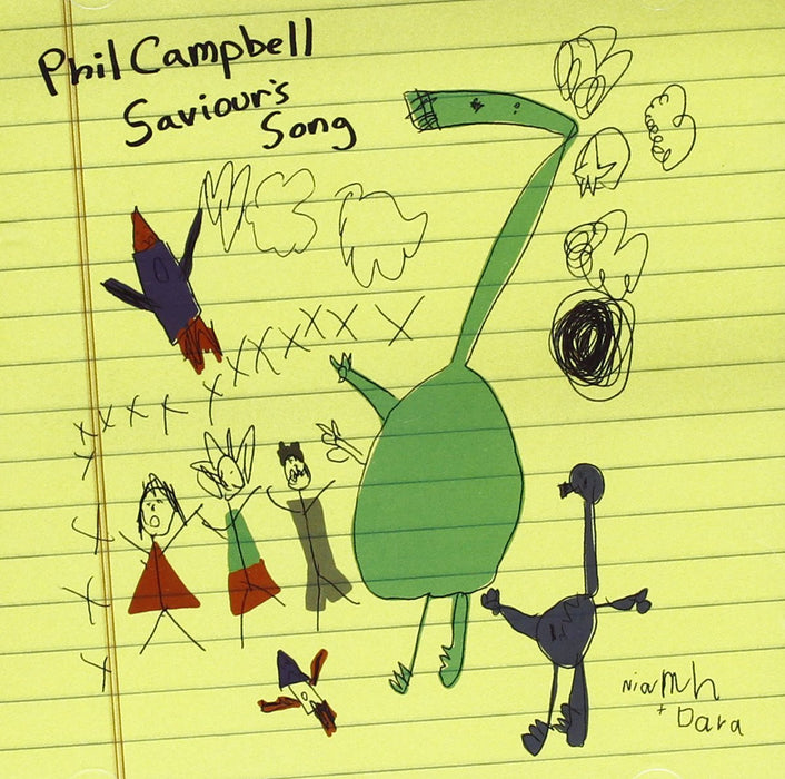 PHIL CAMPBELL Saviours Song CD 2010