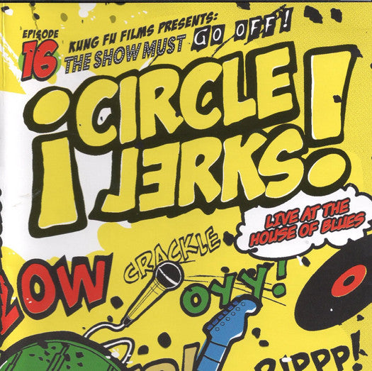 CIRCLE JERKS LIVE AT THE HOUSE OF BLUES LP VINYL NEW (US) 33RPM