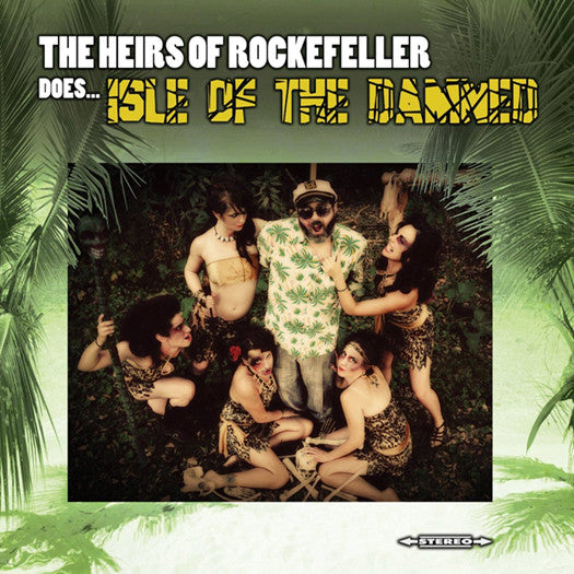 HEIRS OF ROCKEFELLER DOES ISLE OF THE DAMNED LP VINYL NEW (US) 33RPM