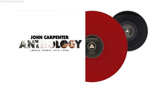 JOHN CARPENTER Movie Themes 74-98 LP Red Vinyl & 7