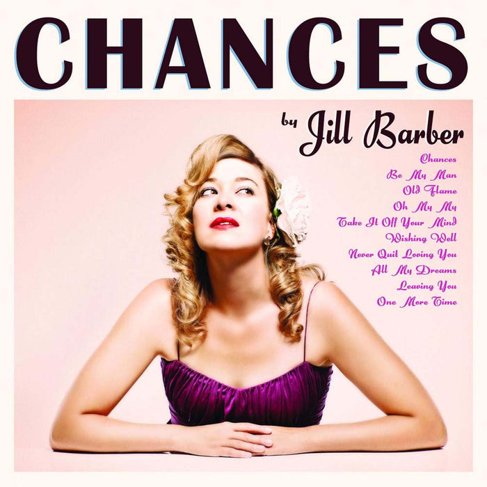 Jill Barber Chances 10th Anniversary Ltd Pink Vinyl LP New 2049