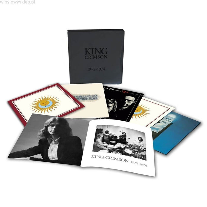 King Crimson 1972-1974 6 Vinyl LP Boxset New 2019