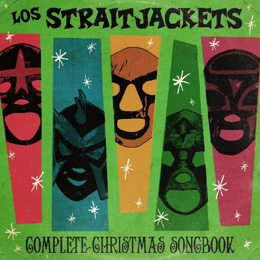 Los Straitjackets Complete Christmas Songbook Vinyl LP New 2018