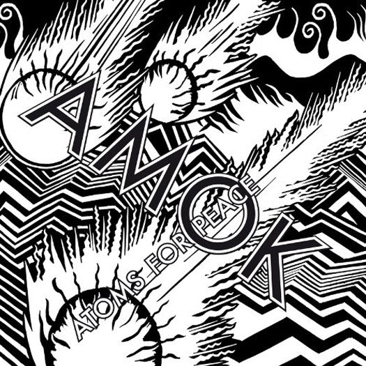 ATOMS FOR PEACE AMOK LP VINYL NEW 2013 33RPM DELUXE EDITION