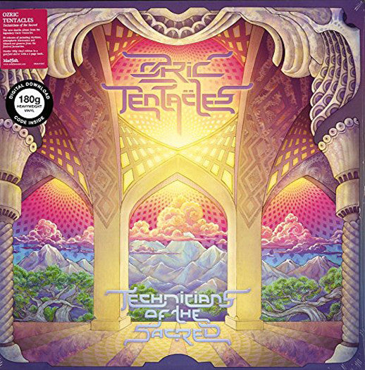 OZRIC TENTACLES TECHNICIANS OF THE SACRED LP VINYL NEW (US) 33RPM
