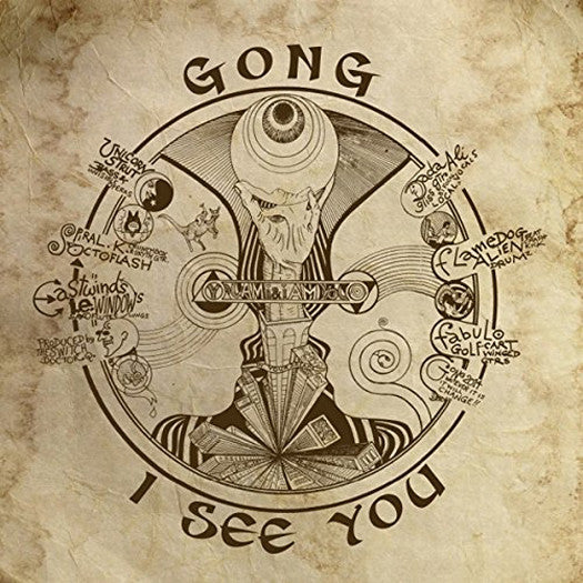 GONG I SEE YOU LP VINYL NEW (US) 33RPM