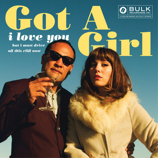 GOT A GIRL I LOVE YOU BUT I MUST DRIVE OFF THIS CLIFF LP VINYL NEW (US)