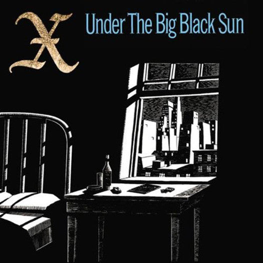 X UNDER THE BIG BLACK SUN LP VINYL NEW (US) 33RPM REMASTERED