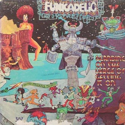 FUNKADELIC STANDING ON THE VERGE OF GETTING IT ON LP VINYL NEW (US) 33RPM