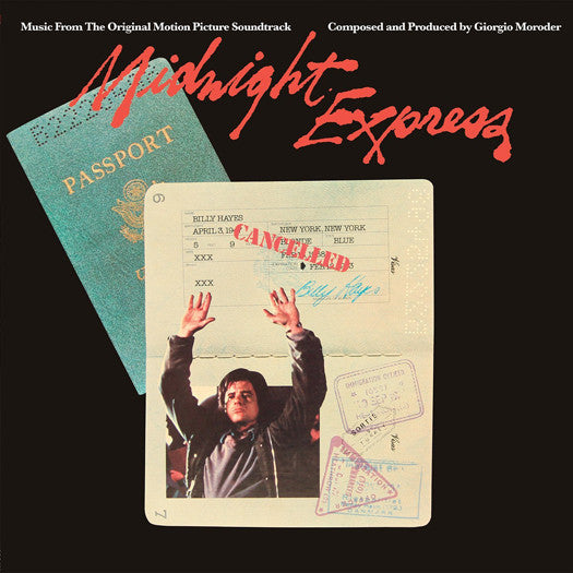 GIORGIO MORODER MIDNIGHT EXPRESS O.S.T. LP VINYL NEW (US) 33RPM