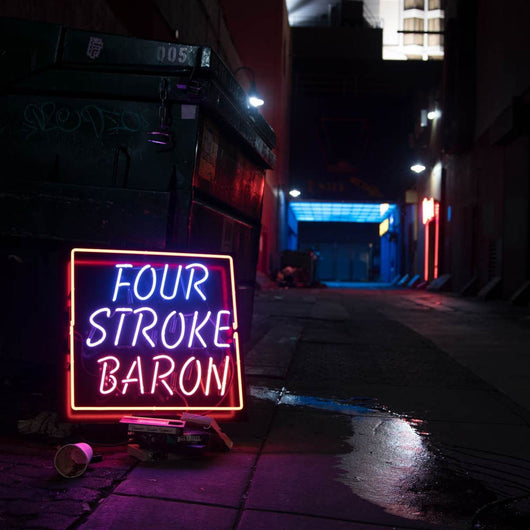 Four Stroke Baron Planet Silver Screen Vinyl LP New 2018