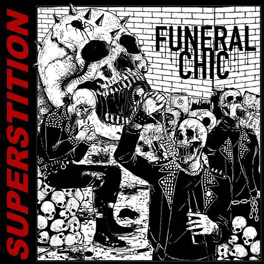 Funeral Chic Superstition Vinyl LP New 2018