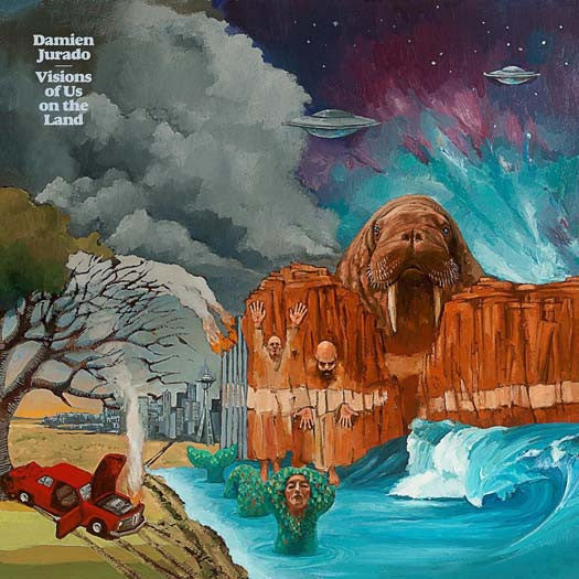 DAMIEN JURADO VISIONS OF US ON THE LAND LP VINYL NEW 33RPM