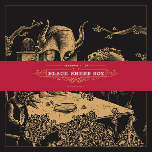 OKKERVIL RIVER BLACK SHEEP BOY TRIPLE LP VINYL NEW 33RPM