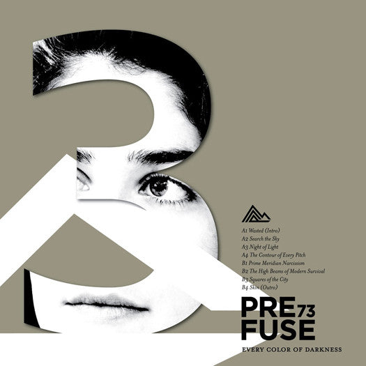 PREFUSE 73 EVERY COLOR OF DARKNESS LP VINYL NEW (US) 33RPM