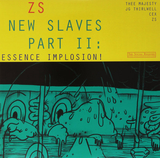 ZS NEW SLAVES II: ESSENCE IMPLOSION LP VINYL NEW (US) 33RPM