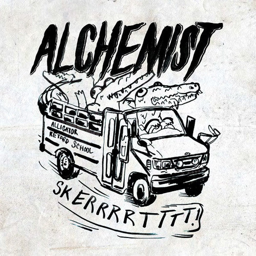 ALCHEMIST RETARDED ALLIGATOR BEATS LP VINYL NEW (US) 33RPM
