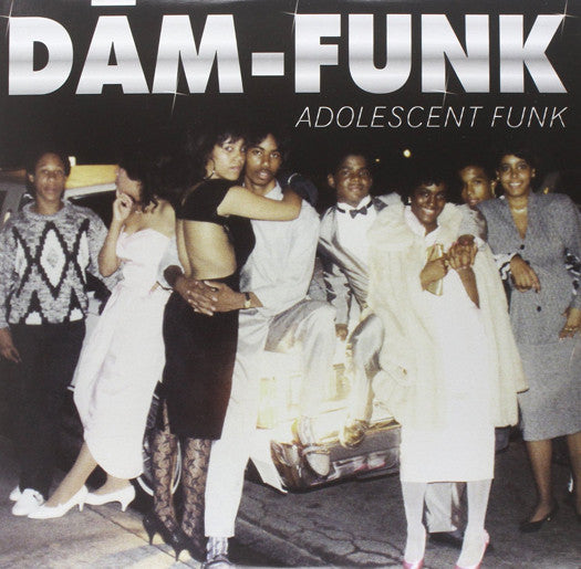 DAM FUNK ADOLESCENT FUNK LP VINYL NEW (US) 33RPM