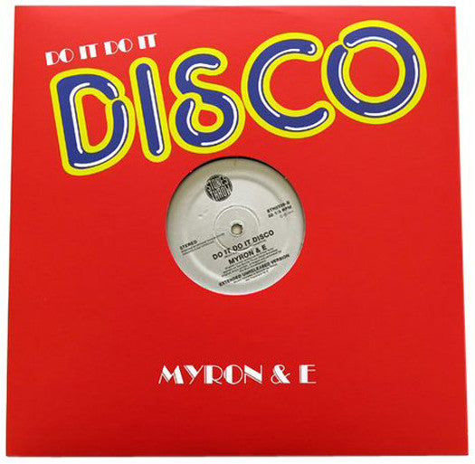 MYRON & E DO IT DO IT DISCO VINYL SINGLE NEW (US) 33RPM