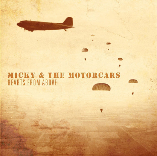 MICKY & MOTORCARS HEARTS FROM ABOVE LP VINYL NEW (US) 33RPM