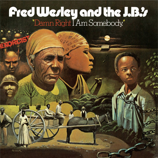 FRED & JBS WESLEY DAMN RIGHT I'M SOMEBODY LP VINYL NEW (US) 33RPM