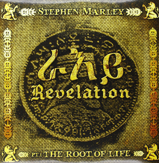 STEPHEN MARLEY REVELATION PT 1 ROOT OF LIFE LP VINYL NEW (US) 33RPM