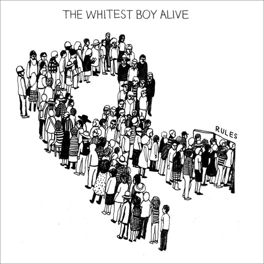 WHITEST BOY ALIVE RULES LP VINYL NEW (US) 33RPM