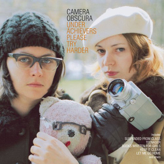 CAMERA OBSCURA UNDERACHIEVERS PLEASE TRY HARDER LP VINYL NEW (US) 33RPM