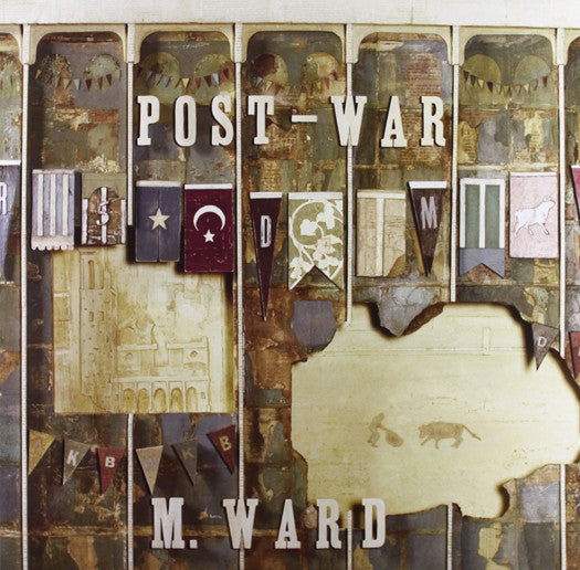 M WARD POST WAR LP VINYL NEW (US) 33RPM