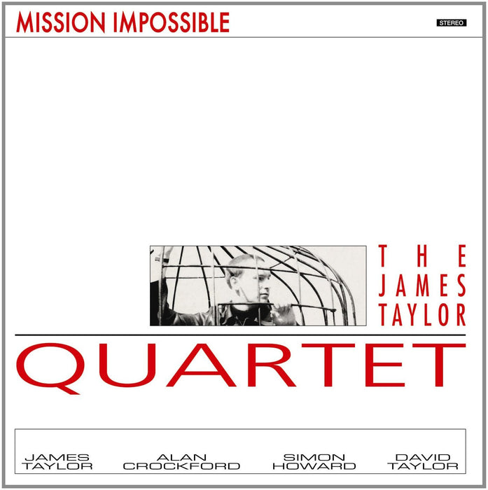 JAMES TAYLOR QUARTET MISSION IMPOSSIBLE LP VINYL 33RPM NEW