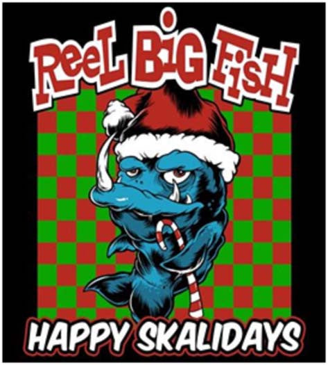 REEL BIG FISH Happy Skalidays LP Vinyl NEW Christmas