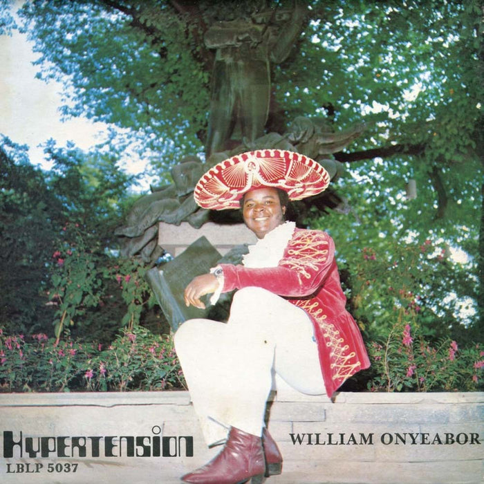 WILLIAM ONYEABOR Hypertension LP Vinyl NEW 2015