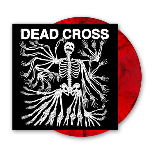 DEAD CROSS Dead Cross LP Vinyl NEW Limited Black and Red