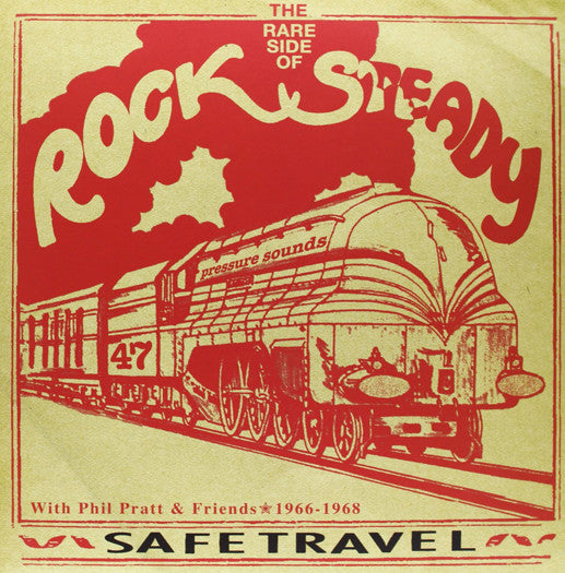 SAFE TRAVEL THE RARE SIDE OF STEADY LP VINYL NEW 2005 33RPM