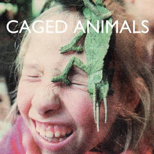 CAGED ANIMALS IN THE LAND OF THE GIANTS LP VINYL 33RPM NEW