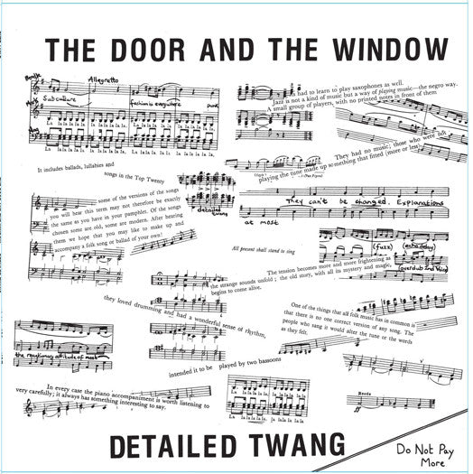 DOOR AND WINDOW DETAILED TWANG LP VINYL 33RPM NEW