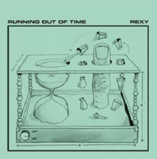 REXY RUNNING OUT OF TIME LP VINYL NEW 33RPM