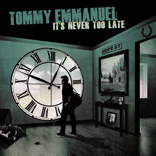 EMMANUEL TOMMY IT'S NEVER TOO LATE LP VINYL NEW 33RPM