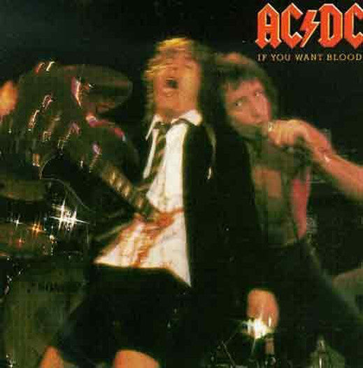 ACDC IF YOU WANT BLOOD YOU'VE GOT IT LP VINYL NEW (US) 33RPM REMASTERED