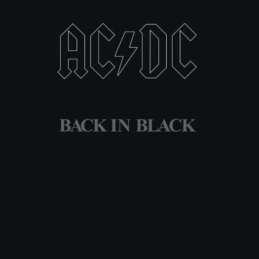 ACDC BACK IN BLACK LP VINYL NEW 33RPM