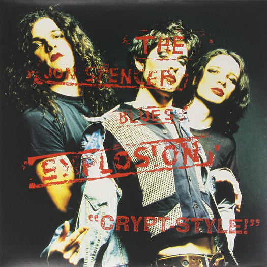 JON BLUES EXPLOSION SPENCER CRYPT STYLE LP VINYL NEW (US) 33RPM