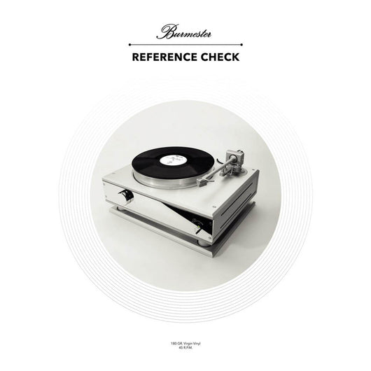 Burmester Reference Check 45 RPM Vinyl LP New Pre Order 01/02/19