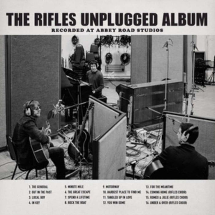 THE RIFLES Unplugged Recorded Abbey Road LP Vinyl NEW 2017